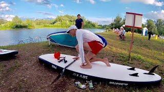 SUP сёрфинг в Стерлитамаке