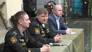 Воспитанники военно-патриотических клубов встретились с представителями гвардейского корвета