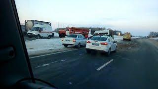 Смертельная авария на трассе Уфа — Казань