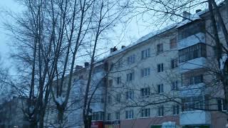Уборка снега. Нефтекамск, РБ РФ