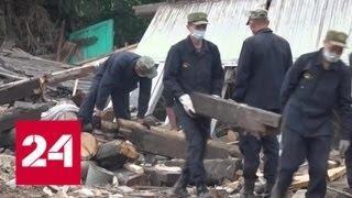 Иркутская область: армия и Росгвардия очищают территорию от завалов - Россия 24