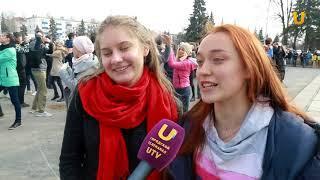 UTV.  Репетиции Весеннего бала 2018 продолжаются на главных площадях Уфы