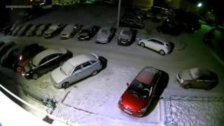 Поджог машины г. Ишимбай 18 ноября 2015
