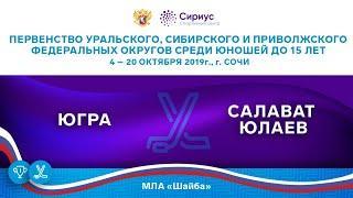 Хоккейный матч. 20.10.19. «Югра» - «Салават Юлаев»