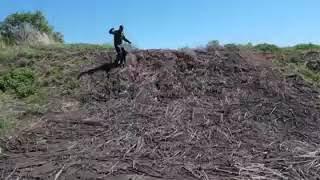 Благовещенск РБ Мертвое озеро жидких отходов