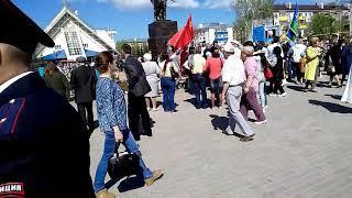 Граждане СССР празднуют День Победы!
