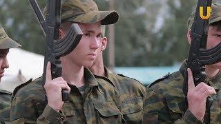 Новости UTV. Юный спецназовец.