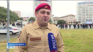 Делегация из Башкирии приняла участие в праздновании дня ВМФ на Северном флоте