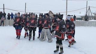 Лидерами первенства по хоккею среди юношей стали «Ломовские ястребы»