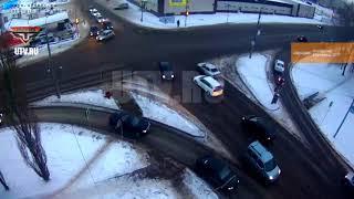 ДТП в Башкирии: снова причиной аварии стала невнимательность