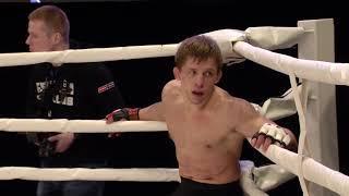 Виктор Митьков против Евгения Бондарева в Челябинске на Road To M-1 (полулегкий вес)