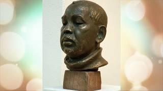 Скульптор Радик Хусаинов (город Уфа, проект «Любимые художники Башкирии»)