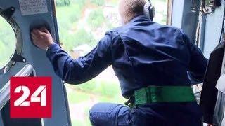 Глава МЧС России осмотрел зону паводка в Амурской области - Россия 24