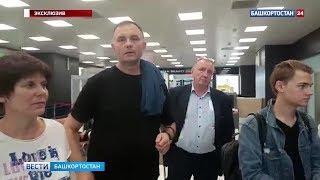 Самолет, экстренно севший в Казани, вылетел в Уфу