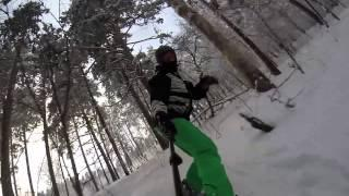 Белорецк, Мраткино. Лесной фрирайд.