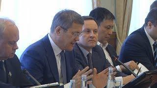 UTV. Радий Хабиров призвал депутатов Госдумы от Башкирии привлекать больше денег в республику