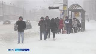 Жителей республики предупреждают об интенсивных снегопадах и сильных метелях