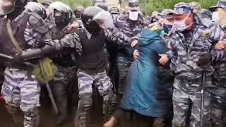 Активисты очистили гору Куштау от мусора