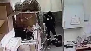 В Уфе охранник магазина избил мужчину
