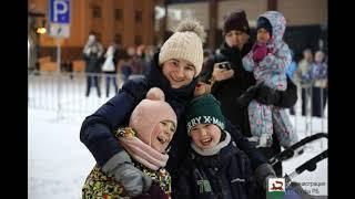 Уфа встретила Новый 2020 год массовыми гуляньями и фейерверком