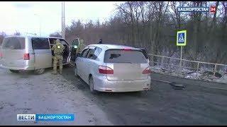 Видео с места ликвидации боевика под Уфой