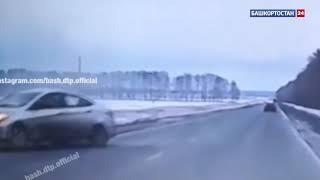 В Башкирии на трассе автомобиль занесло на встречку – есть погибший