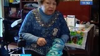 Ожидание - реальность. В Иркутске пенсионерке спустя полтора года заменили инвалидную коляску