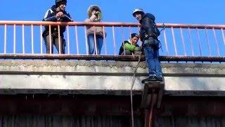 Прыжки с бельского моста Стерлитамак. 7.02.16