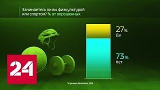 Россия в цифрах. Сколько россиян вовлечены в спорт - Россия 24