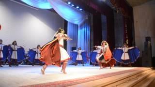 Ансамбль народного танца им. Ф. Гаскарова в Янауле. Башкирский казачий танец