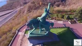 Памятник Салавату Юлаеву Уфа Республика Башкортостан. Октябрь 2016 г.