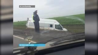 Очередная авария с участием пассажирского автобуса