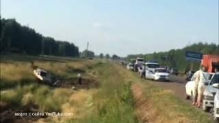 Очередная авария на 86 км трассы Дюртюли-Нефтекамск