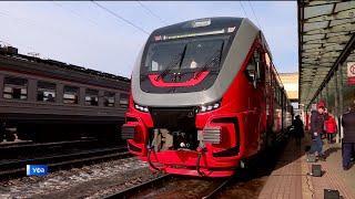 В Башкирии запустили новый скоростной поезд «Орлан» по маршруту Уфа-Кумертау