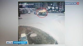 Массовая авария с участием «скорой» в Башкирии попала на видео