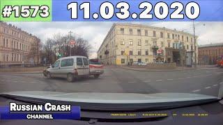 ДТП. Подборка на видеорегистратор за 11.03.2020 Март 2020