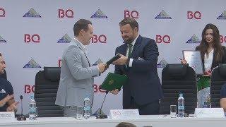 UTV. Компания BQ стала партнером хоккейного клуба Салават Юлаев