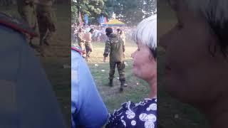 Пограничный спецназ РБ в октябрьском Гом.область