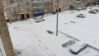 Улица Энергетиков 21 / Уборка снега