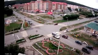 Авария Ленина-горького в г Учалы 2016 Башкортостан