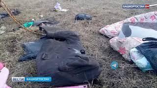 «Нас закрутило и выбросило»: появилось видео с места смертельного ДТП с микроавтобусом в Башкирии