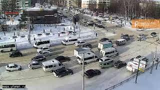 UTV. Обзор ДТП с камер Уфанет за 25 января 2019 года