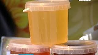 Пчеловоды Башкирии, Кубани и Алтая привезли в Красноярск мёд