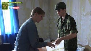 Народная милиция доставила гуманитарную помощь многодетным семьям прифронтового поселка Донецкий