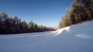 Трасса ГЛЦ Мраткино (Белорецк) - Спуск от первого лица