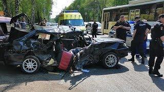 Аварию с погибшим в Башкирии сняли на видео