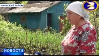 Уфа, с.Михайловка, не уходят талые воды, нарушена ливневка, огороды в воде