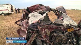 Виновником аварии, в которой погибла целая семья, мог стать водитель легкового автомобиля