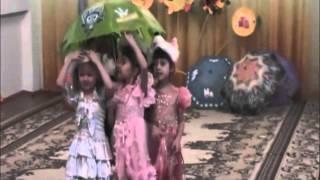 """Детский сад №15 """"Гузель"""" в Мелеузе, группа №6. Утренник 11 октября 2012 года."""
