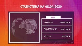 UTV. Коронавирус в Башкирии, России и мире на 8 апреля 2020. Плюс опрос уфимцев